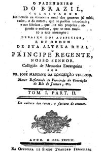 O Fazendeiro do Brazil melhorado, Volume 1,Edição 2, Por José Mariano da Conceição Veloso